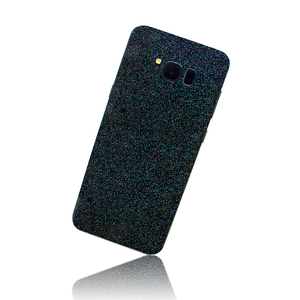 SAMSUNG GALAXY S8 PLUS SKIN - Black Glitter