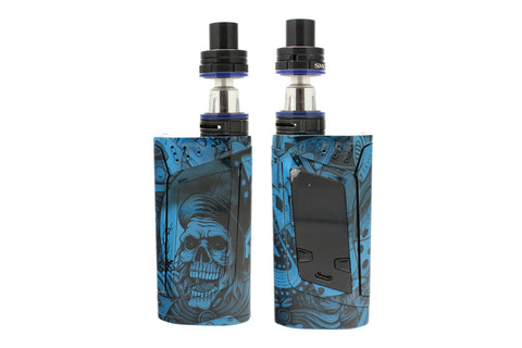 "SMOK Alien 220W Kit - Custom Painted ""Blue Gambler"" Edition"