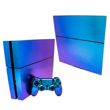 Load image into Gallery viewer, SONY PS4 CONSOLE SKIN - Blue Glitter