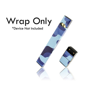 Vape Central Group Wraps for JUUL - Blue Camo