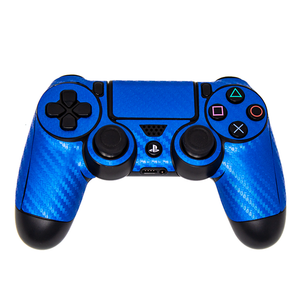 SONY PS4 CONSOLE SKIN - Blue Carbon Fiber