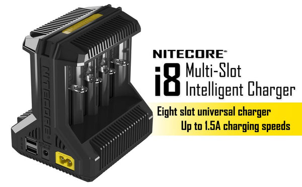 Nitecore Intellicharger i8 - 8 Bay Charger