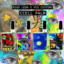 Load image into Gallery viewer, Rigo Leon X VCG Customs: CCell Palm Pre-Wrapped