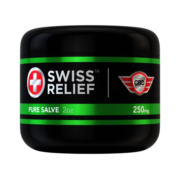 Pure CBD Salve by Swiss Relief