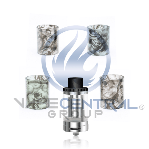 ASPIRE Cleito 120 Custom Glass - Skulls (ONLY GLASS)