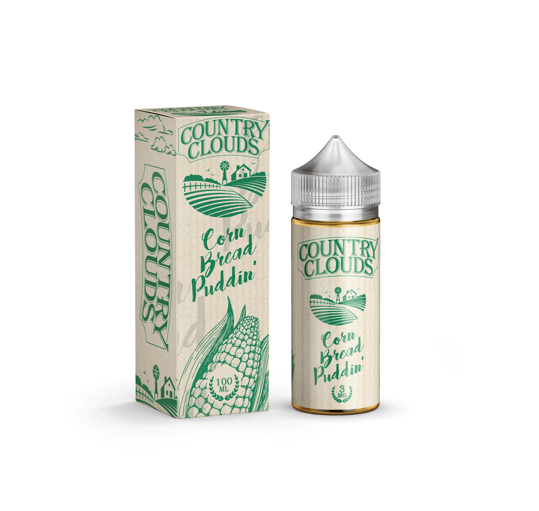 Corn Bread Puddin' E-Liquid by Country Clouds 100mL