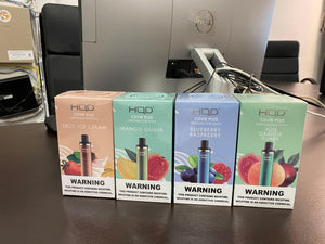 HQD Cuvie Plus - Starting $4.95 - 1200 Puff Salt Nic Vape Disposable Device