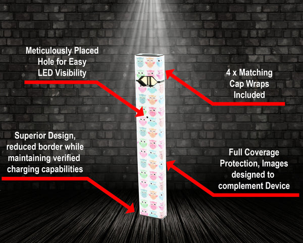 Vape Central Group Wraps for JUUL - Da Owl