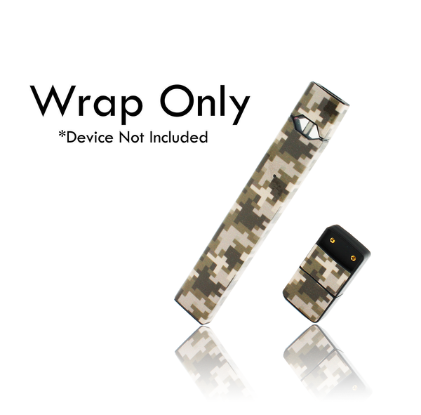 Vape Central Group Wraps for JUUL - Desert Digi Camo