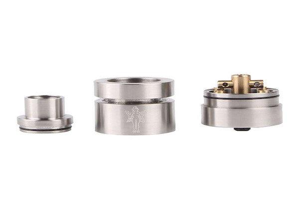 Euphrat RDA Style 22mm 26650 18650 Huge clouds for Quad Coil Builds