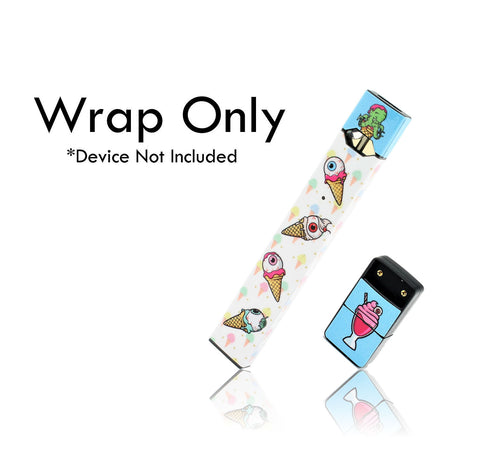 Vape Central Group Wraps for JUUL - Eye Scream