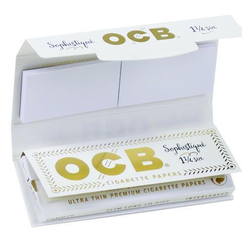 OCB Sophistique 1 1/4 Rolling Papers + Tips