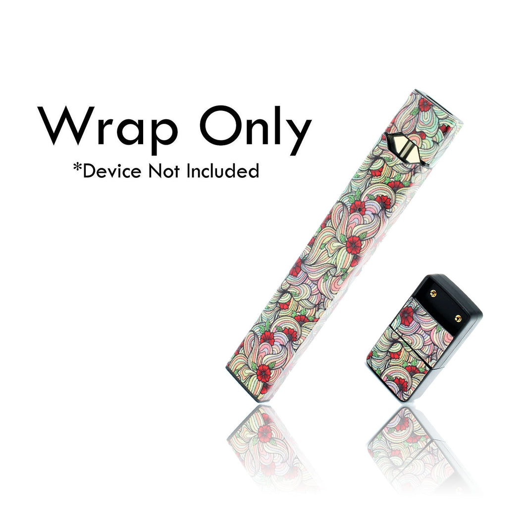 Vape Central Group Wraps for JUUL - Floral #1