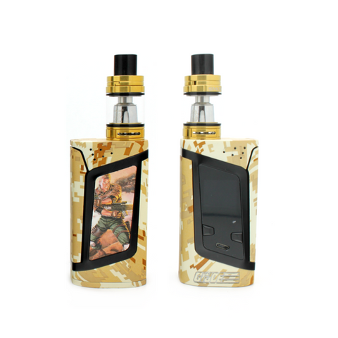 "SMOK Alien 220W Kit - ""Heroes & Villains"" Edition - GIJOE - Custom Painted + Engraved"