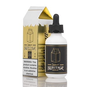 The Milkman Heritage E-Liquid - Gold - 60mL
