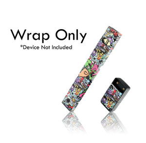 Vape Central Group Wraps for JUUL - Graffiti #2