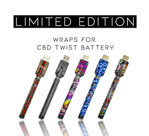 Ooze Slim Twist Pro 510 Cartridge Vaporizer Pen Kit