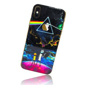 APPLE IPHONE X/XS SKIN - Rick, Morty & Floyd