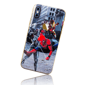 APPLE IPHONE X/XS SKIN - Spiderman