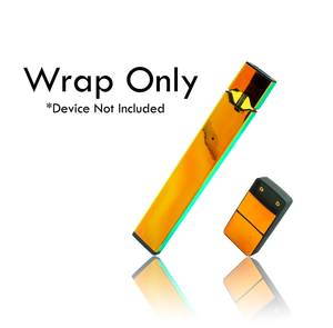 Vape Central Group Wraps for JUUL  - Prismatic Gold