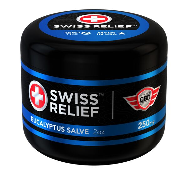 Eucalyptus CBD Salve by Swiss Relief