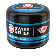 Load image into Gallery viewer, Eucalyptus CBD Salve by Swiss Relief
