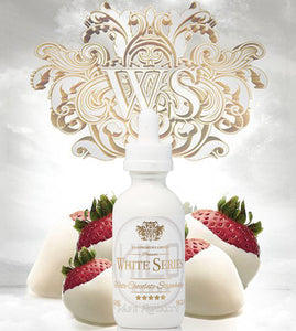 White Series White Chocolate Strawberry Premium E-Liquid - By Kilo 60ML