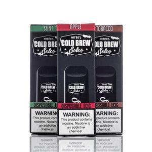 Nitro's Cold Brew Solos Disposable ECig