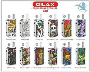 OILAX Cito Pro Battery Box for 510 Cartridge Oil and Wax Vaporizer