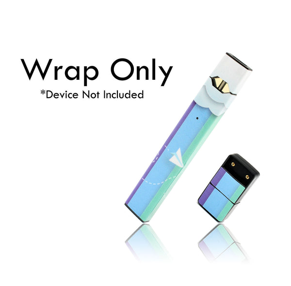 Vape Central Group Wraps for JUUL - Paper Planes