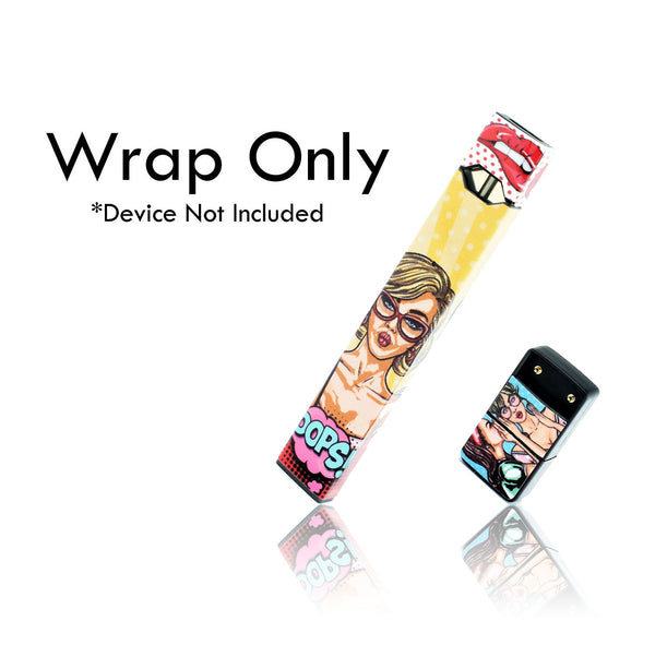 Vape Central Group Wraps for JUUL - Pop!