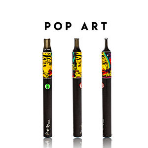 LIMITED EDITION: Pre-Wrapped Atman Pretty Plus Dry Herb Vaporizer Pen