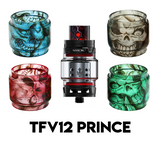 SMOK TFV12 Prince Custom Bulb Glass - Skulls (ONLY GLASS)