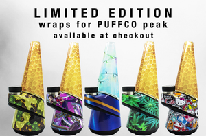 Puffco Peak and Puffco Peak Pro Compatible Replacement Custom Glass - Pre-Wrapped