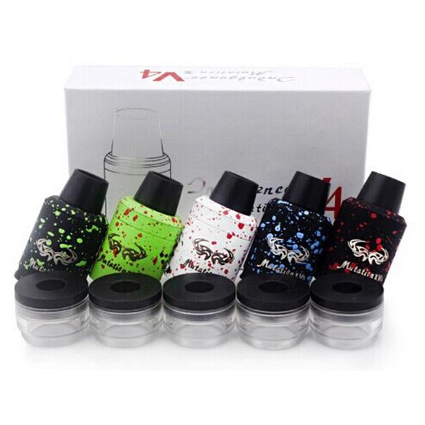 Mutation X V4 Style RDA zombie splatter design USA seller Rebuildable Atomizer