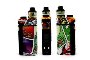 "iJoy RDTA Box Mod - Custom Painted ""Zombie #1"" Edition"