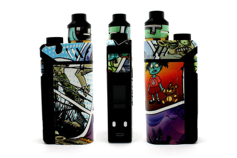 "iJoy RDTA Box Mod - Custom Painted ""Zombie #2"" Edition"