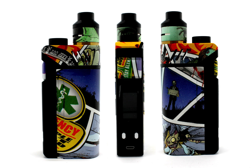 "iJoy RDTA Box Mod - Custom Painted ""Zombie #3"" Edition"