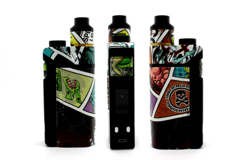 "iJoy RDTA Box Mod - Custom Painted ""Zombie #4"" Edition"