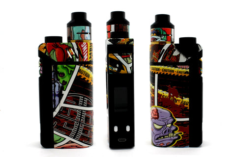 "iJoy RDTA Box Mod - Custom Painted ""Zombie #5"" Edition"