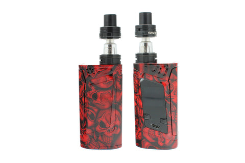 "SMOK Alien 220W Kit - Custom Painted ""Red Skulls"" Edition"