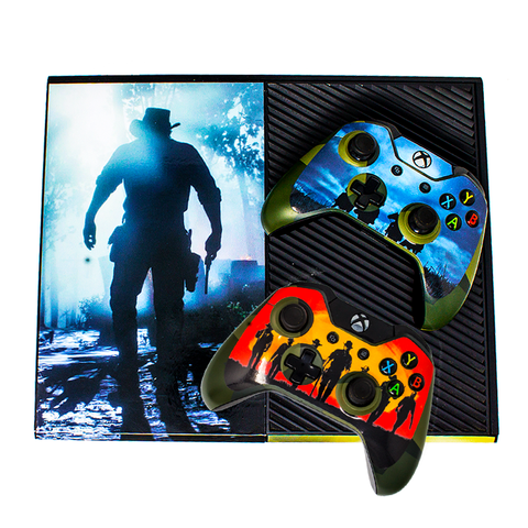 MICROSOFT XBOX ONE CONSOLE SKIN - Red Dead Redemption