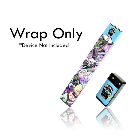 Vape Central Group Wraps for JUUL - Rick & Morty
