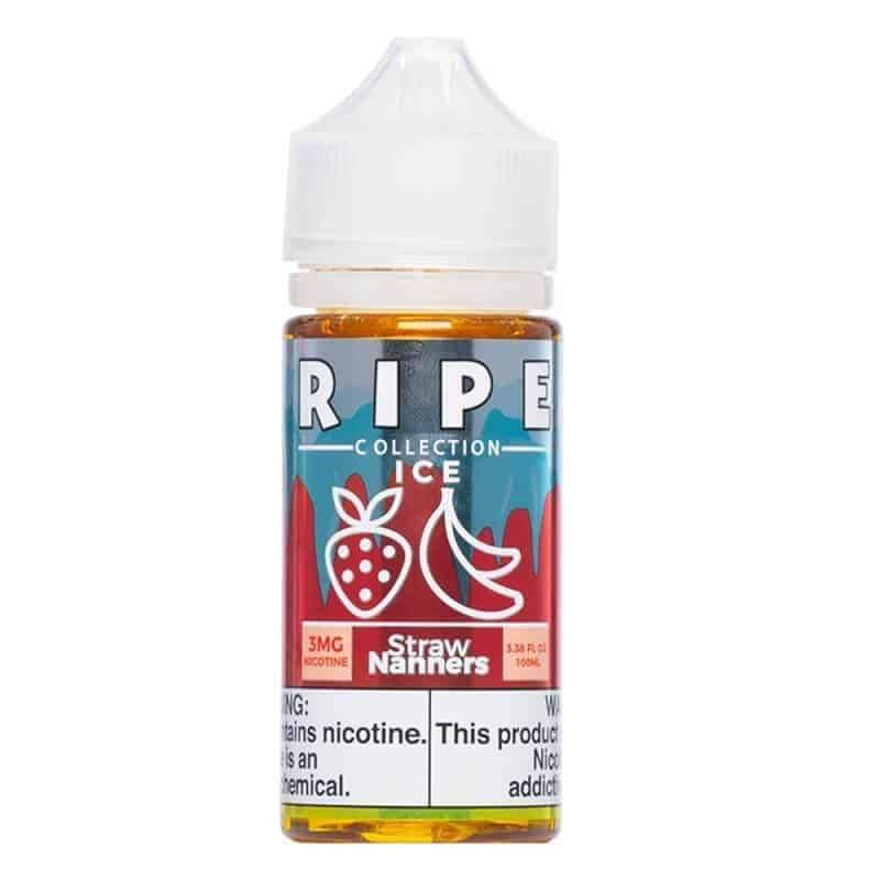 ICE Straw Nanners by Ripe Collection E-Liquid