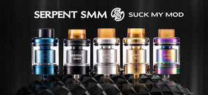 WOTOFO & Suck My Mod Serpent SMM 24mm RTA