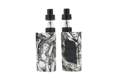 "SMOK Alien 220W Kit - Custom Painted ""Silver Queen"" Edition"