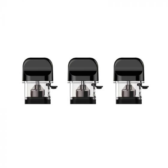 Smok Novo Replacement Pods - 3 Pack (Gloss Black)