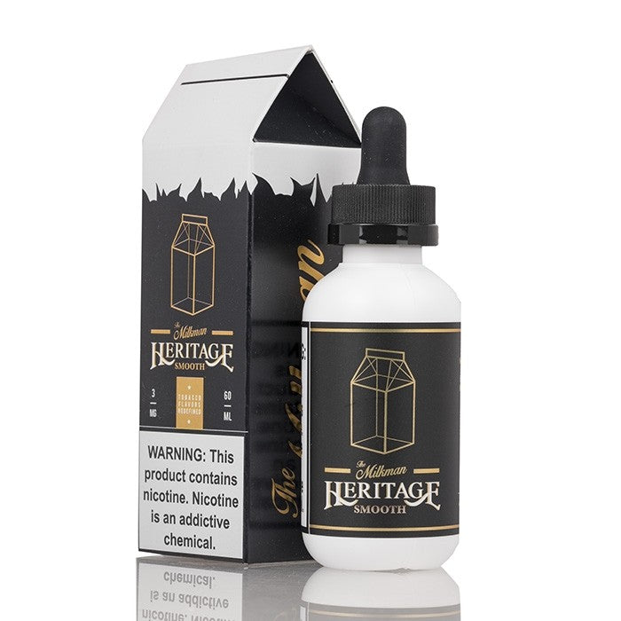 The Milkman Heritage E-Liquid - Smooth - 60mL