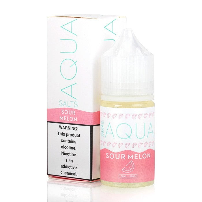 Sour Melon - AQUA Salts E-Liquid - 30mL