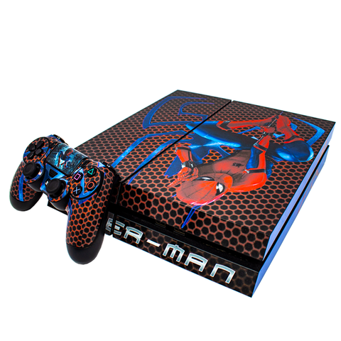 SONY PS4 CONSOLE SKIN - Spiderman